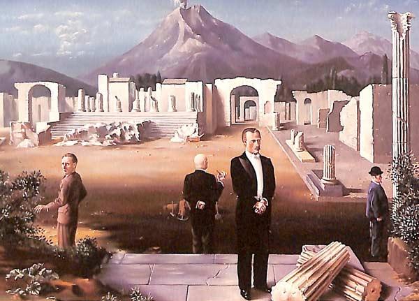 LCT Leiderschap Consult Training Carel Willink Late visitors to Pompeii CT