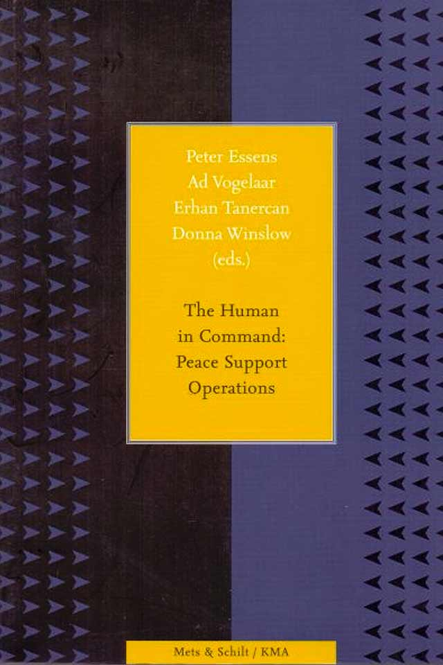 Drs Erhan Tanercan MED book The human in command team human capital LCT Amsterdam