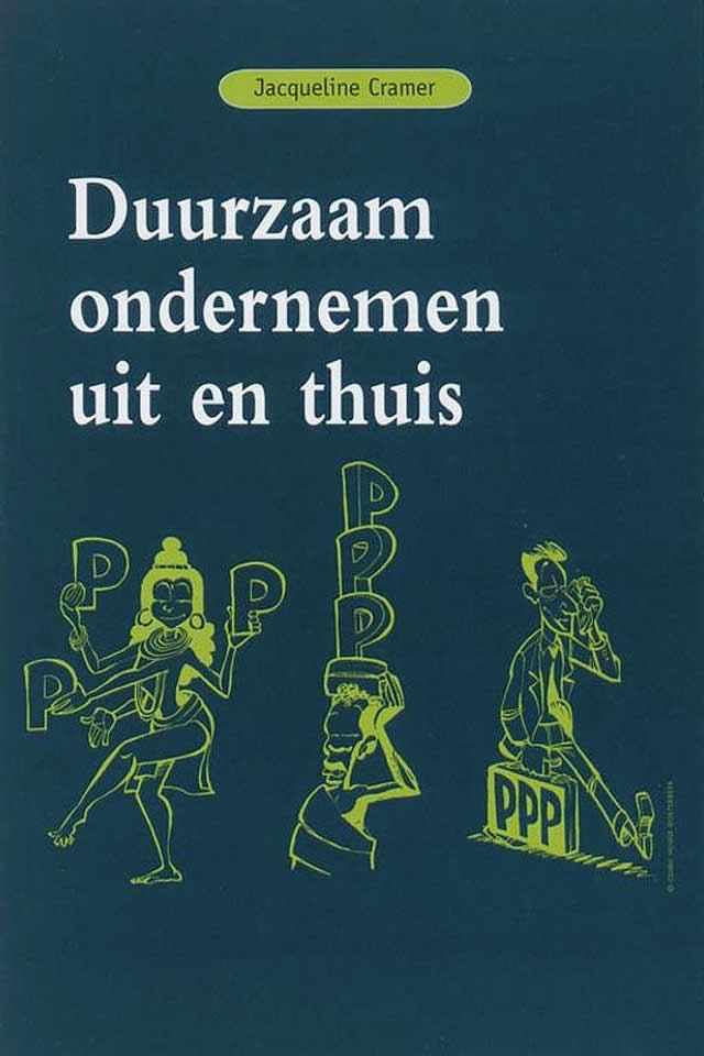 Prof Dr Jacqueline Cramer book Duurzaam ondernemen uit en thuis team human capital LCT Amsterdam
