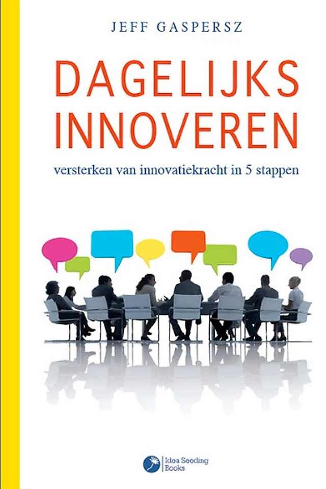 Prof Dr Jeff Gaspersz book Dagelijkse Innovatie team human capital LCT Amsterdam