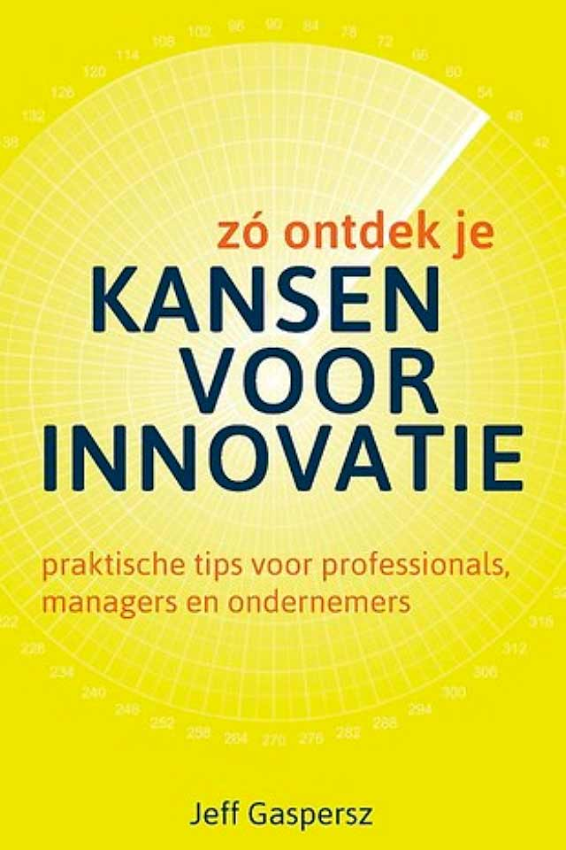 Prof Dr Jeff Gaspersz book Kansen voor Innovatie team human capital LCT Amsterdam