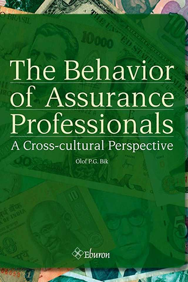 Prof Dr Olof Bik book the behavior of inssurance professionals team human capital LCT Amsterdam