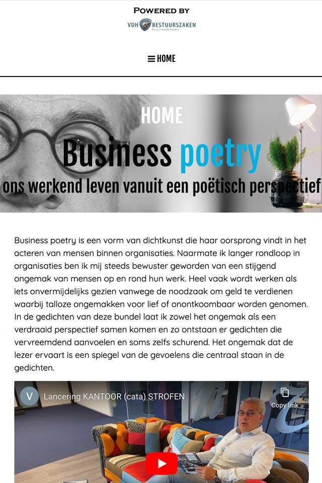 Gert van der Houwen Business Poetry LCT Human Capital 01